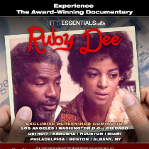 Promotional Cover of Life's Essentials With Ruby Dee