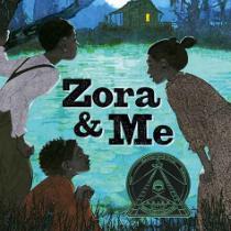 Zora and Me Book Cover by Victoria Bond