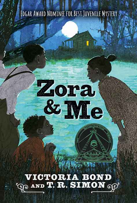 Zora and Me Book Cover by Victoria Bond