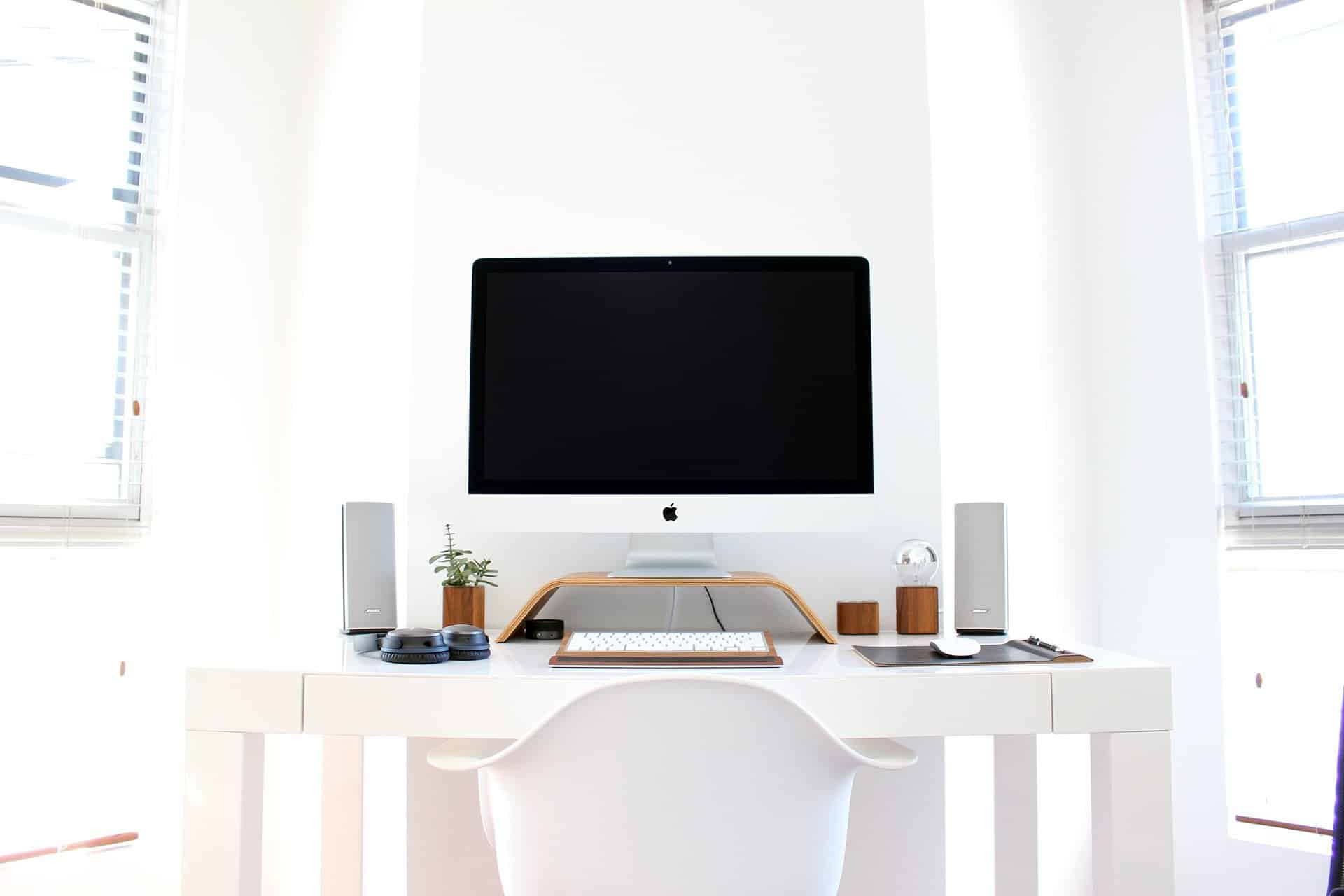 Picture of a home computer work station
